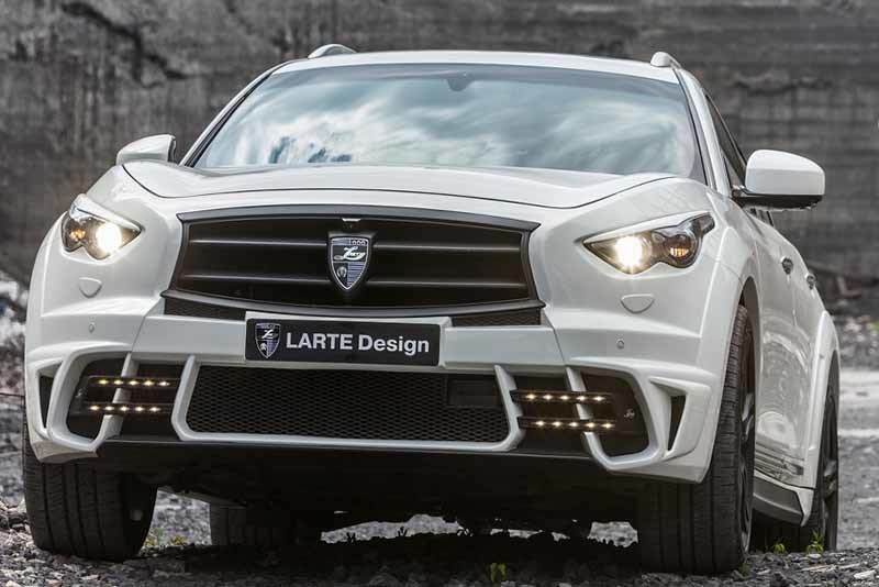 Обвес Larte Design LR3 для Infiniti QX70