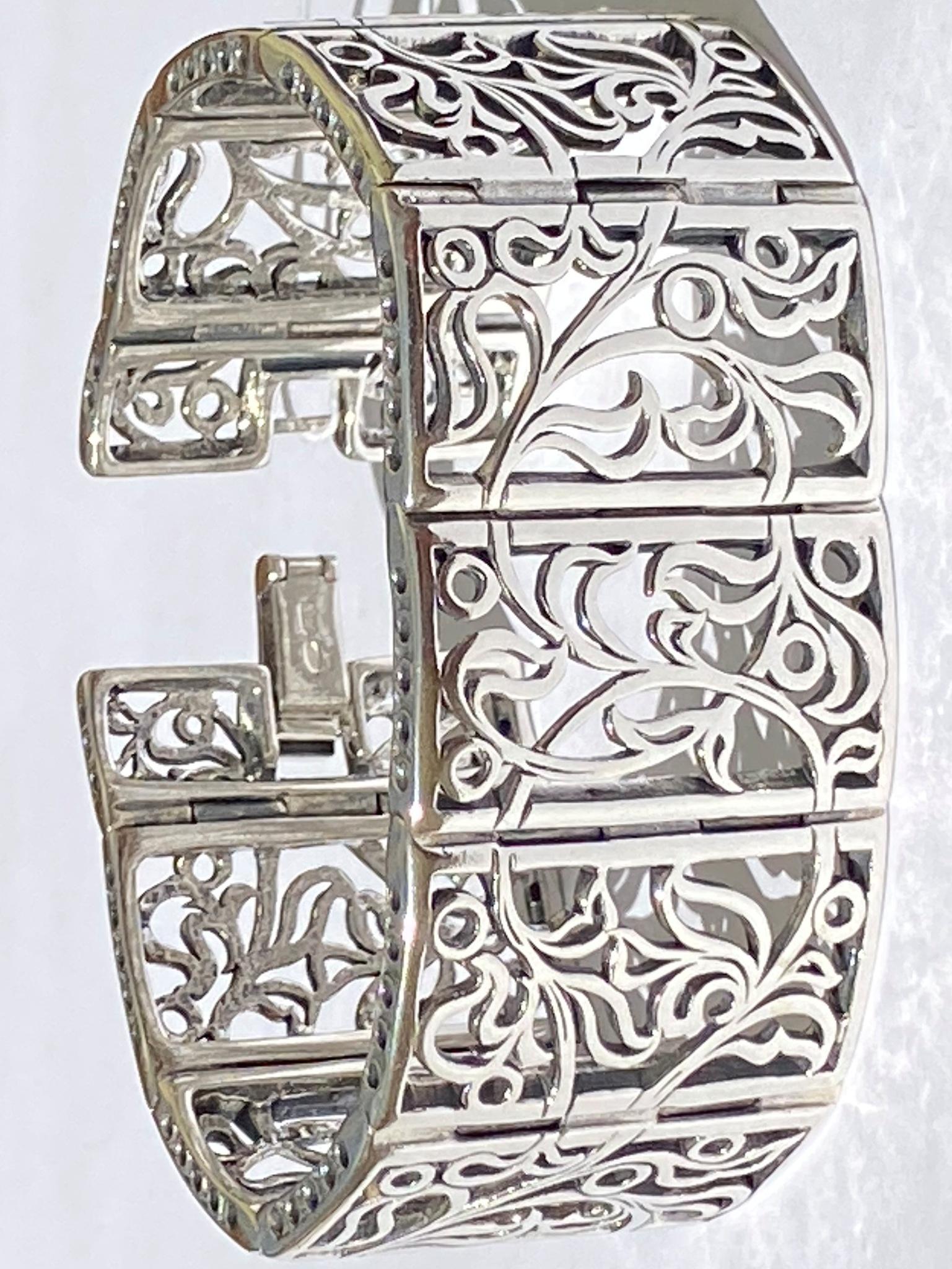 Патриарший мост (серебряный браслет)