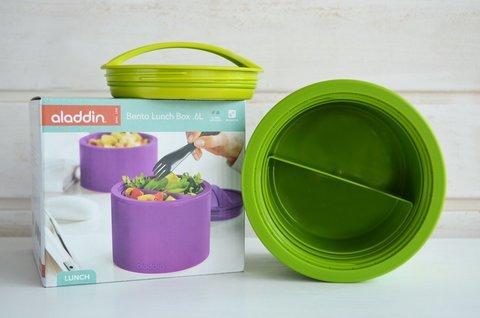 Ланчбокс Aladdin Bento (0,6 литра), зеленый