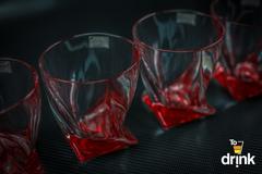 Набор для виски Quadro, красный, фото 2