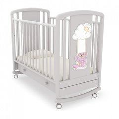Детская кровать Жаклин(мишки на качелях) Гандылян