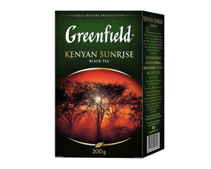 купить Чай черный листовой Greenfield Kenyan Sunrise, 200 г