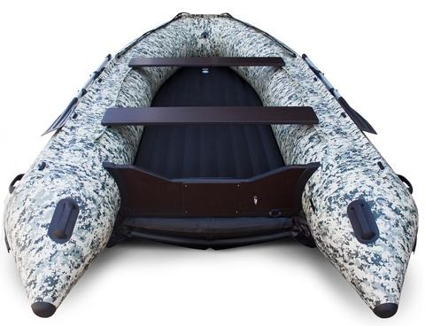 Надувная ПВХ-лодка Солар Максима - 480 К (пиксель)