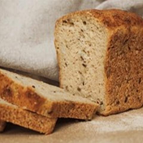 Фотография Хлеб гречневый «Особый» на закваске / 350 гр купить в магазине Афлора