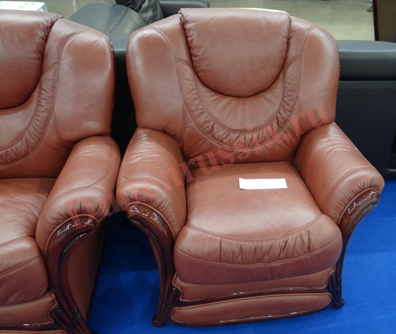 Кресло ESFА67 коричневый