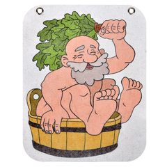 Панно войлочное «Дед» 24,5х30,5 см, войлок 100%