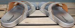 Красивые шлепки Seastar T335P Silver.