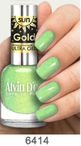 Alvin D`or Лак д/ногтей SUN GOLD тон 6414