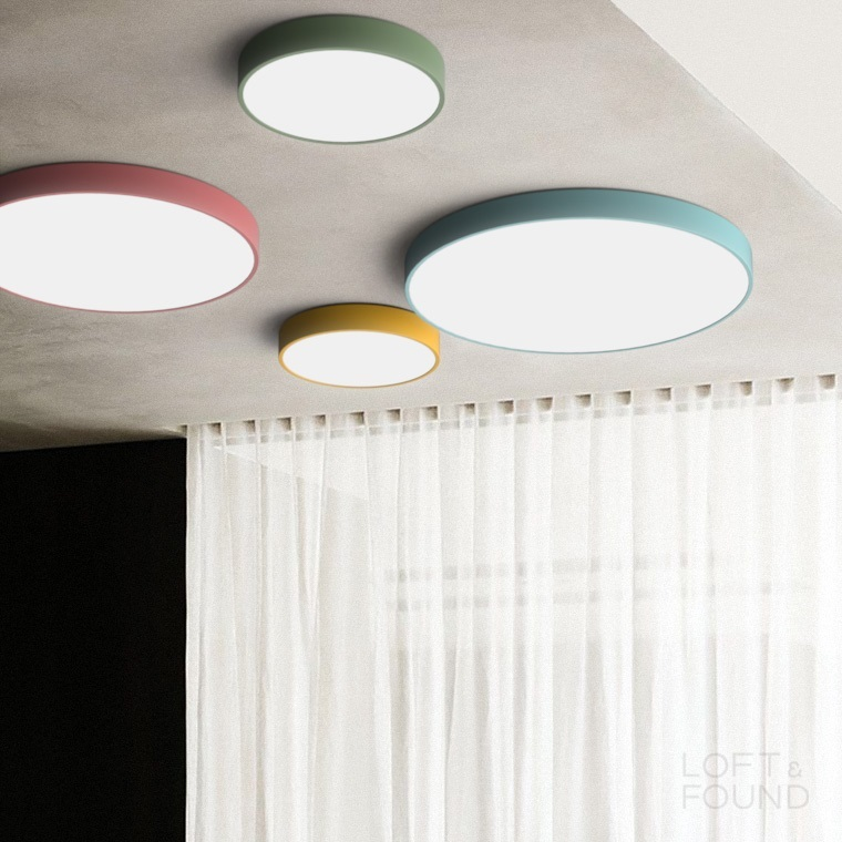 Потолочный светильник Lampatron style Disc Color