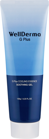 WELLDERMA Гель для кожи  G Plus Cooling Essence Soothing Gel, 120 гр