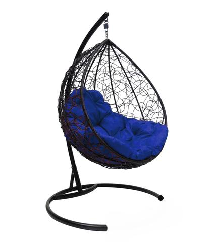 Кресло подвесное Lagos black/blue