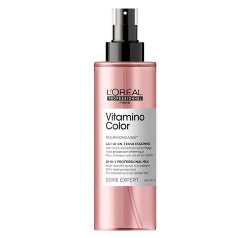 L'Oreal Professionnel Vitamino Color: Мультифункциональный спрей для волос 10 в 1 (Color A-OX Spray 10-in-1), 190мл