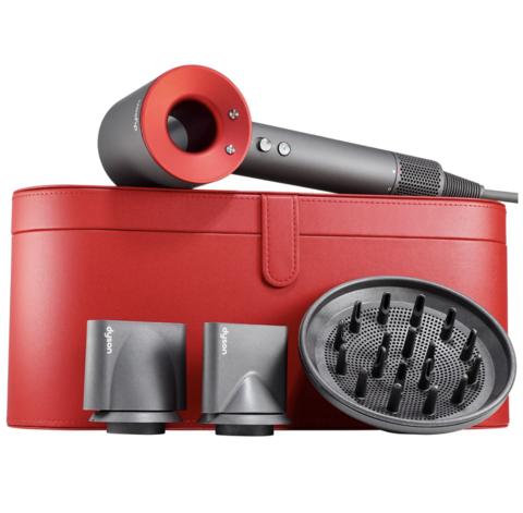 Dyson Фен для волос Никель/Красный Supersonic Nickel/Red