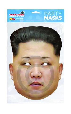 Маска ким Чен Ын бумажная