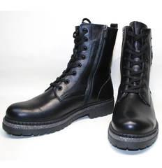 Кожаные ботинки женские Vivo Antistres Lena 603