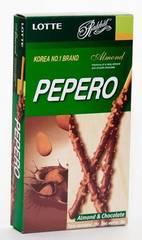 Соломка «LOTTE» Pepero Almond с шоколадом и миндалем 32гр