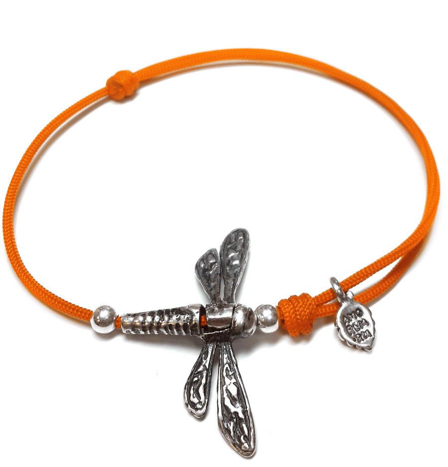 Dragonfly Bracelet, sterling silver
