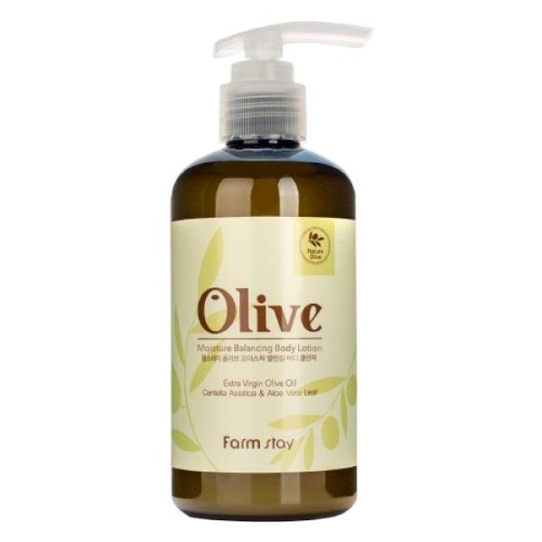 Лосьон для тела увлажняющий с экстрактом оливы FarmStay Olive Moisture Balancing Body Lotion