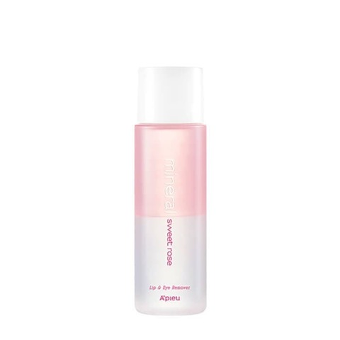 Средство для снятия макияжа с розовой водой A'PIEU Lip Eye Wash Remover Sweet Rose 250 мл