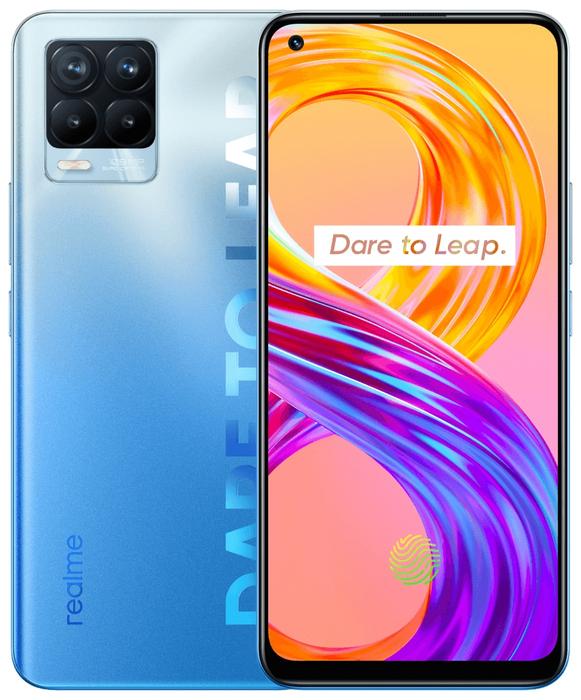 Realme 8 Pro Realme 8 Pro 6.128GB Infinite Blue (Синий) blue1.jpg
