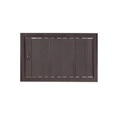 Антресольная дверь венге