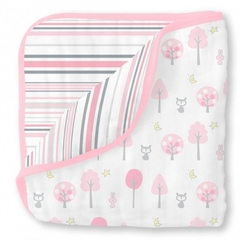 Одеяло Luxe Muslin Pink Thicket