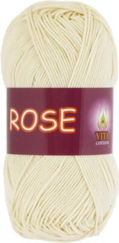Пряжа Rose (Vita cotton) 3950 Экрю