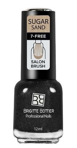 Brigitte Bottier Лак SUGAR SAND тон 301 искрящийся графит