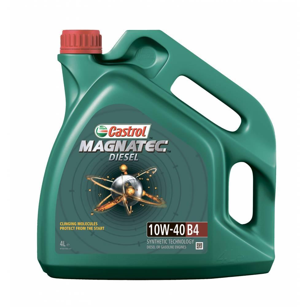 Castrol Magnatec Diesel 10W40 B4 Полусинтетическое моторное масло для дизельных автомобилей