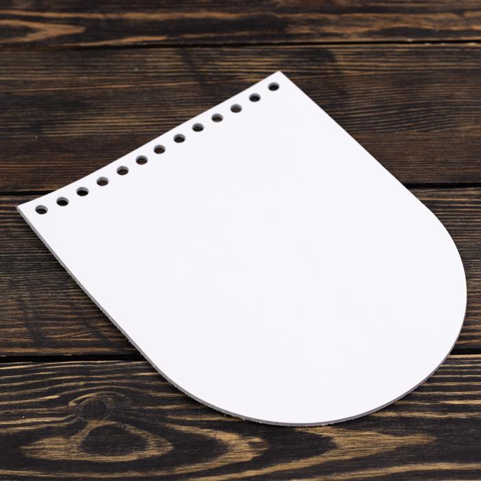 """Вся фурнитура Клапан для сумочки кожаный """"Белый"""" 15,5*19,5 см IMG_8034.jpg"""