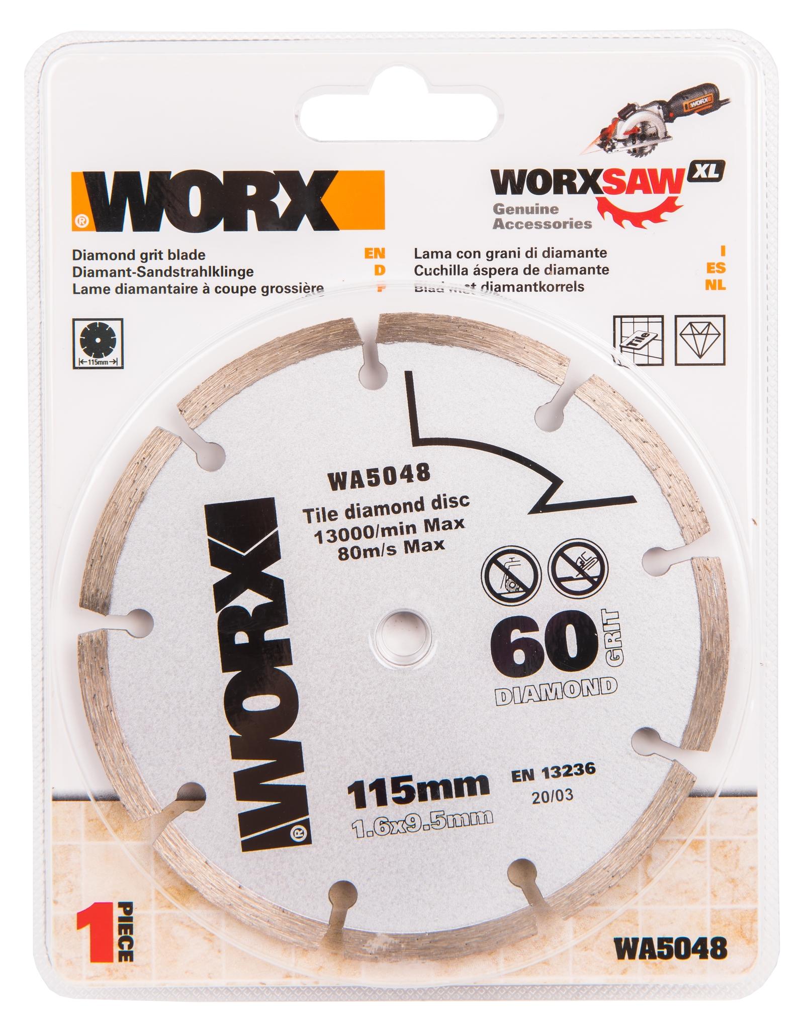 Пильный диск алмазный WORX WA5048