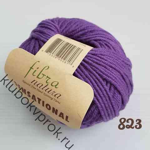 FIBRA NATURA SENSATIONAL 40823, Темный фиолетовый