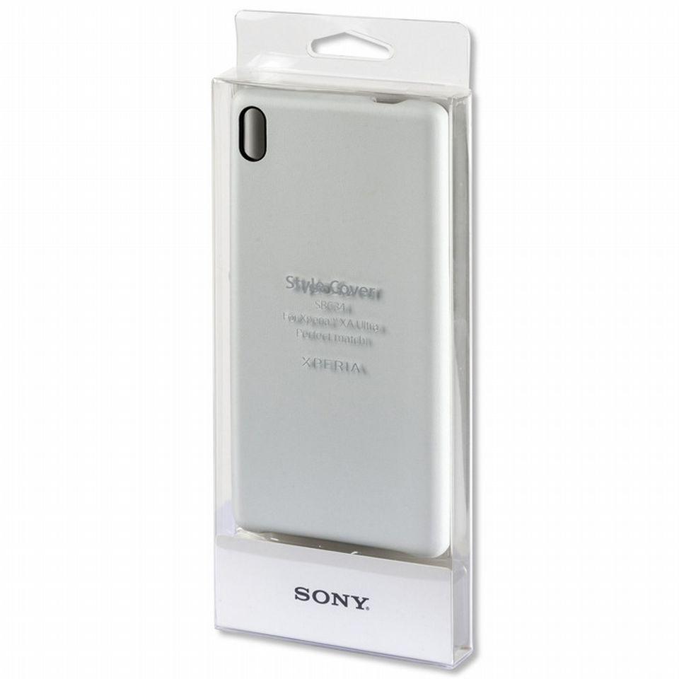 Чехол Sony SBC34W белый для смартфона Xperia XA Ultra
