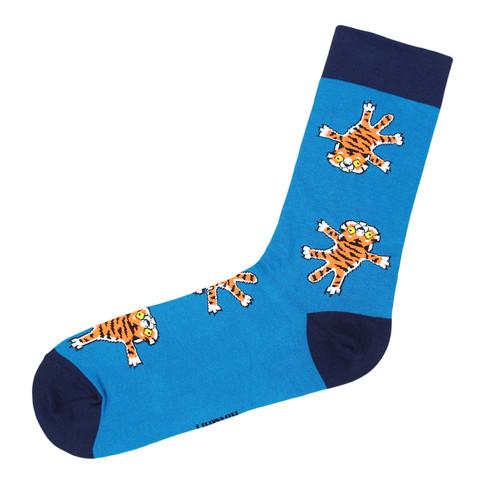 Носки Тигр синий