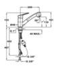Смеситель TEKA MTP 978 Хром - схема