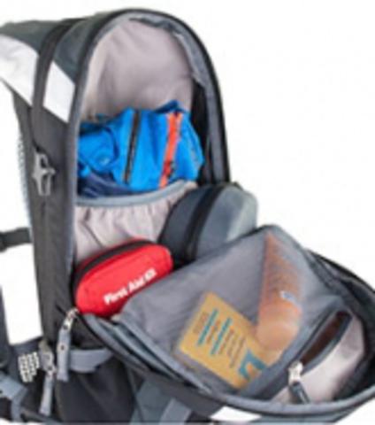 Картинка рюкзак велосипедный Deuter Compact Exp 10 Sl Turquoise-Midnight - 5