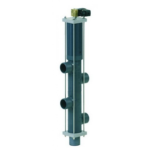 Автоматический вентиль Besgo 5-ти позиционный DN 40 диаметр подключения 50 мм 152 мм с электромагнитным клапаном 230В