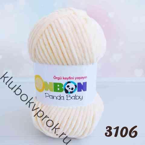 BONBON PANDA BABY 3106, Светлый персик