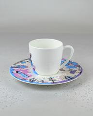 Фарфоровая чайная пара «Шляпник» из серии «Алиса в Стране Чудес» Россия