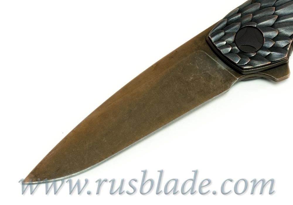 CKF CUSTOM Rook Gratch Knife - фотография