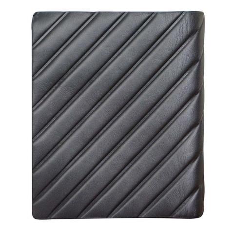 Кошелек Cross Grabado, кожа наппа, чёрный, 9,5х1х12 см