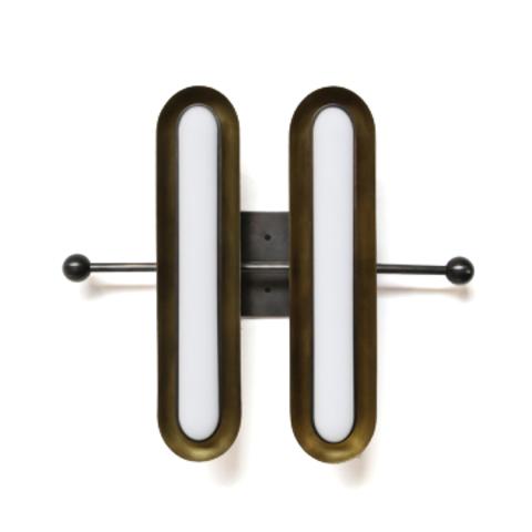 Настенный светильник копия Circuit by Apparatus (2 плафона)