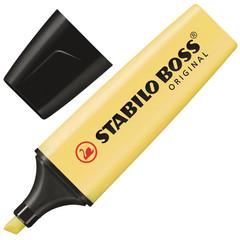 Текстовыделитель Stabilo Boss Original Pastel 70/144 желтый (толщина линии 2-5 мм)