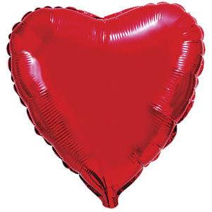 Фольгированный шар Сердце RED 18