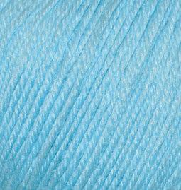 Пряжа Alize Baby Wool 128 светлая бирюза