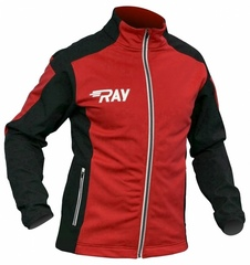 Лыжная разминочная куртка Ray Pro Race WS Red-Black мужская