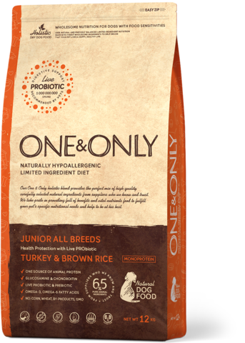 One&Only Junior All Breeds Turkey & Brown Rice