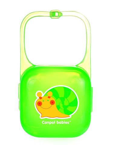Canpol babies. Контейнер для пустышки, зеленый