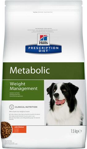 купить хиллс Hill's™ Prescription Diet™ Metabolic Weight Management сухой корм для собак, диетический рацион для коррекции веса