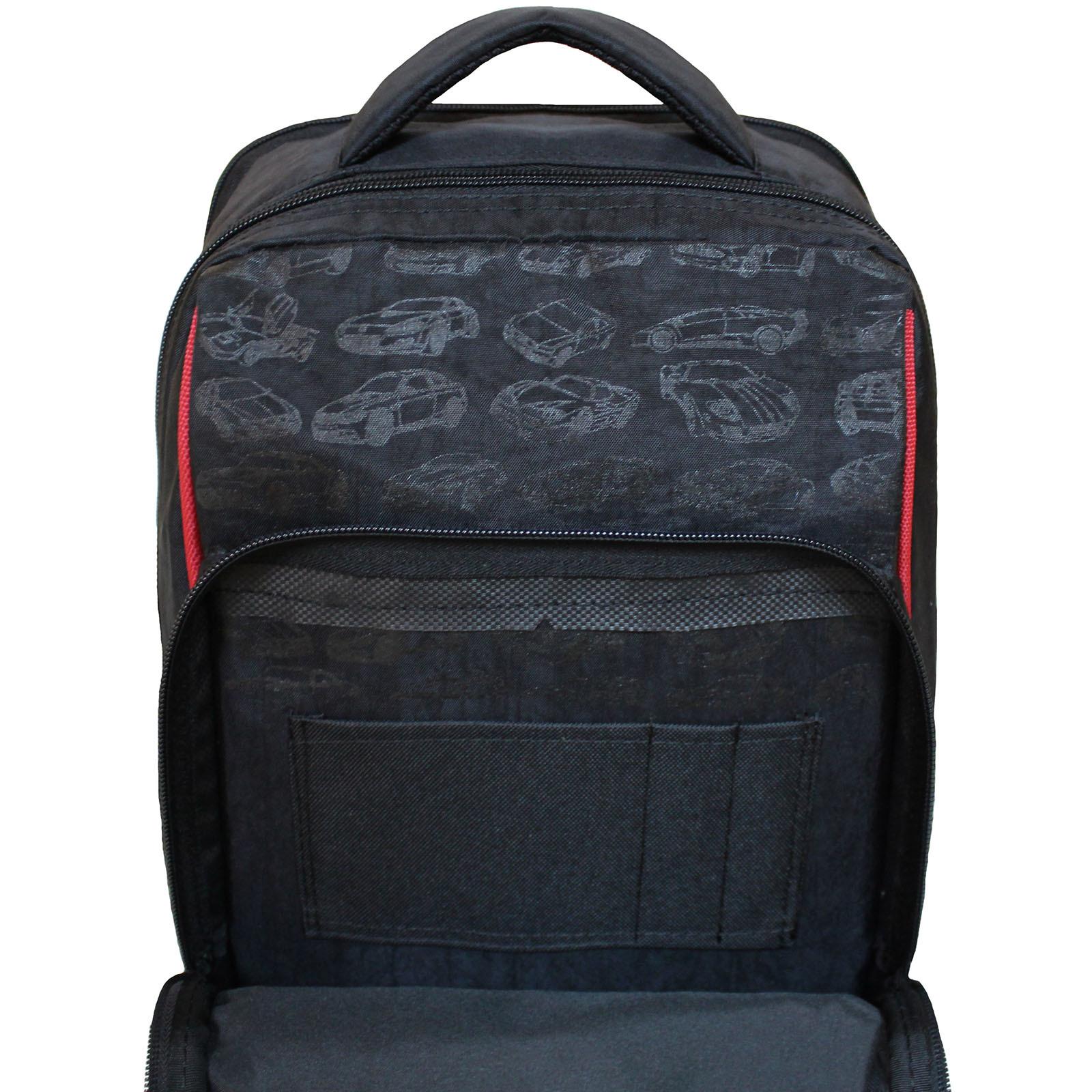 Рюкзак школьный Bagland Школьник 8 л. черный 57м (0012870)
